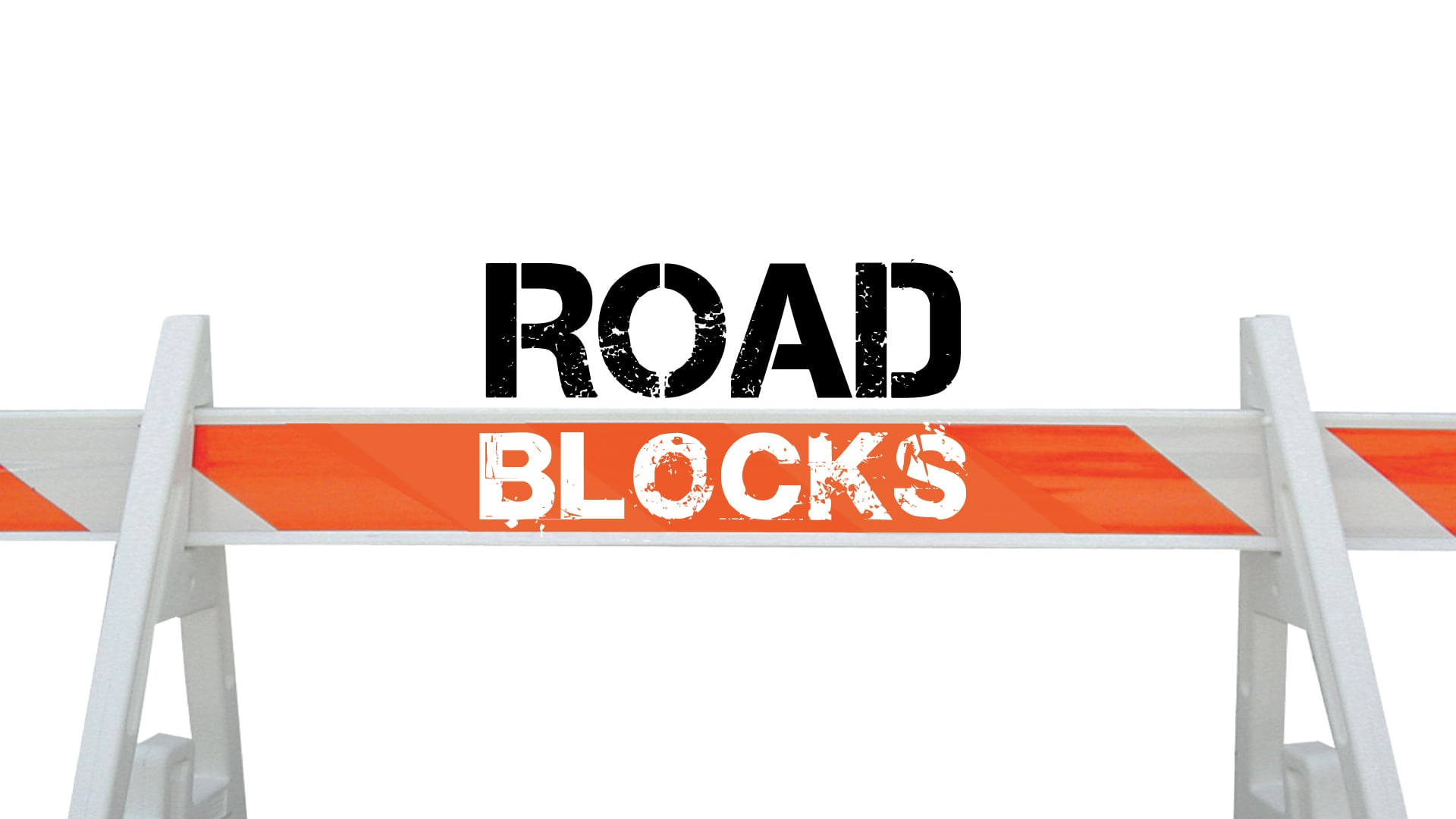 The Rock Church of Fenton, Lake Fenton, Linden, and Byron, Michigan exists to preach the Word of God, Baptize, and Disciple Road blocks from God