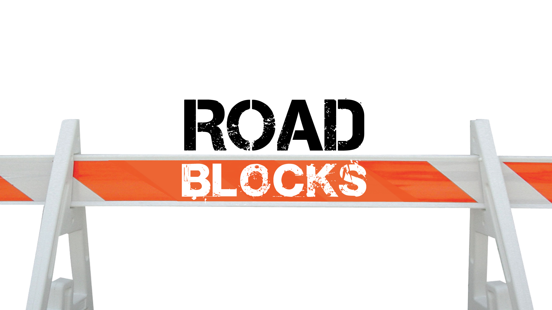 The Rock Church of Fenton, Lake Fenton, Linden, and Byron, Michigan exists to preach the Word of God, Baptize, and Disciple Road Blocks from Satan