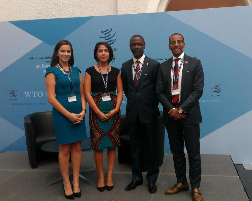 YDC OECD Public Forum Delegation 2014
