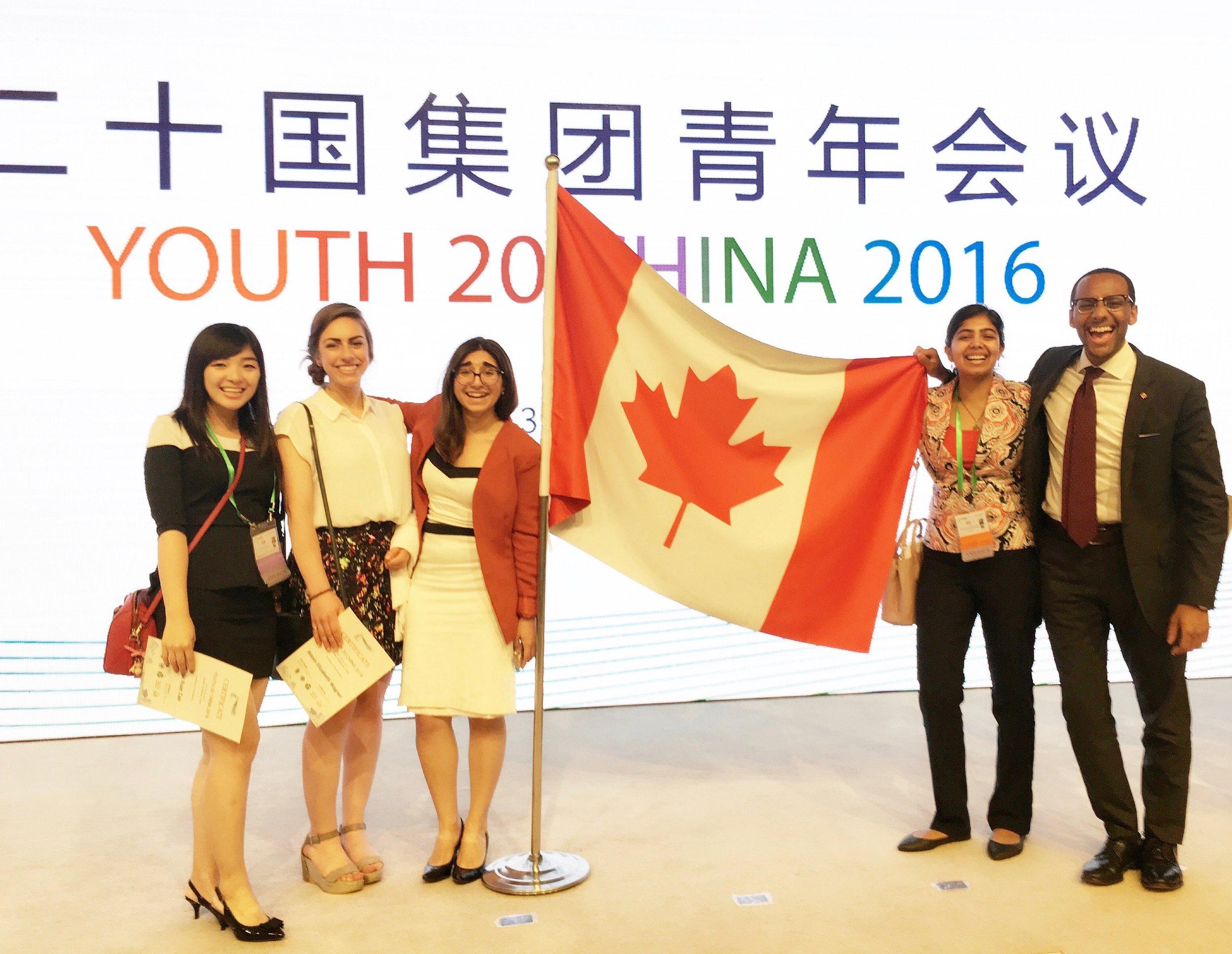 Canadian Delegates at Closing Ceremony (Shanghai 2016) 2.jpg