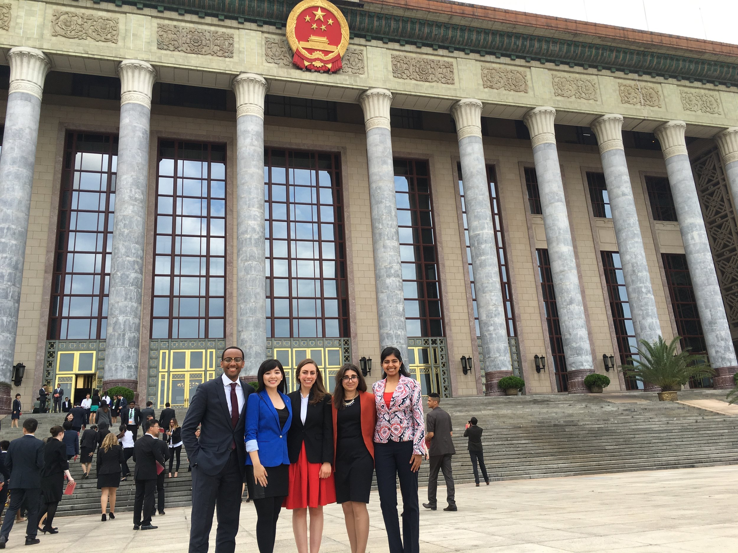 Canadian Delegates in front of Great Hall of the People (Beijing 2016).jpg