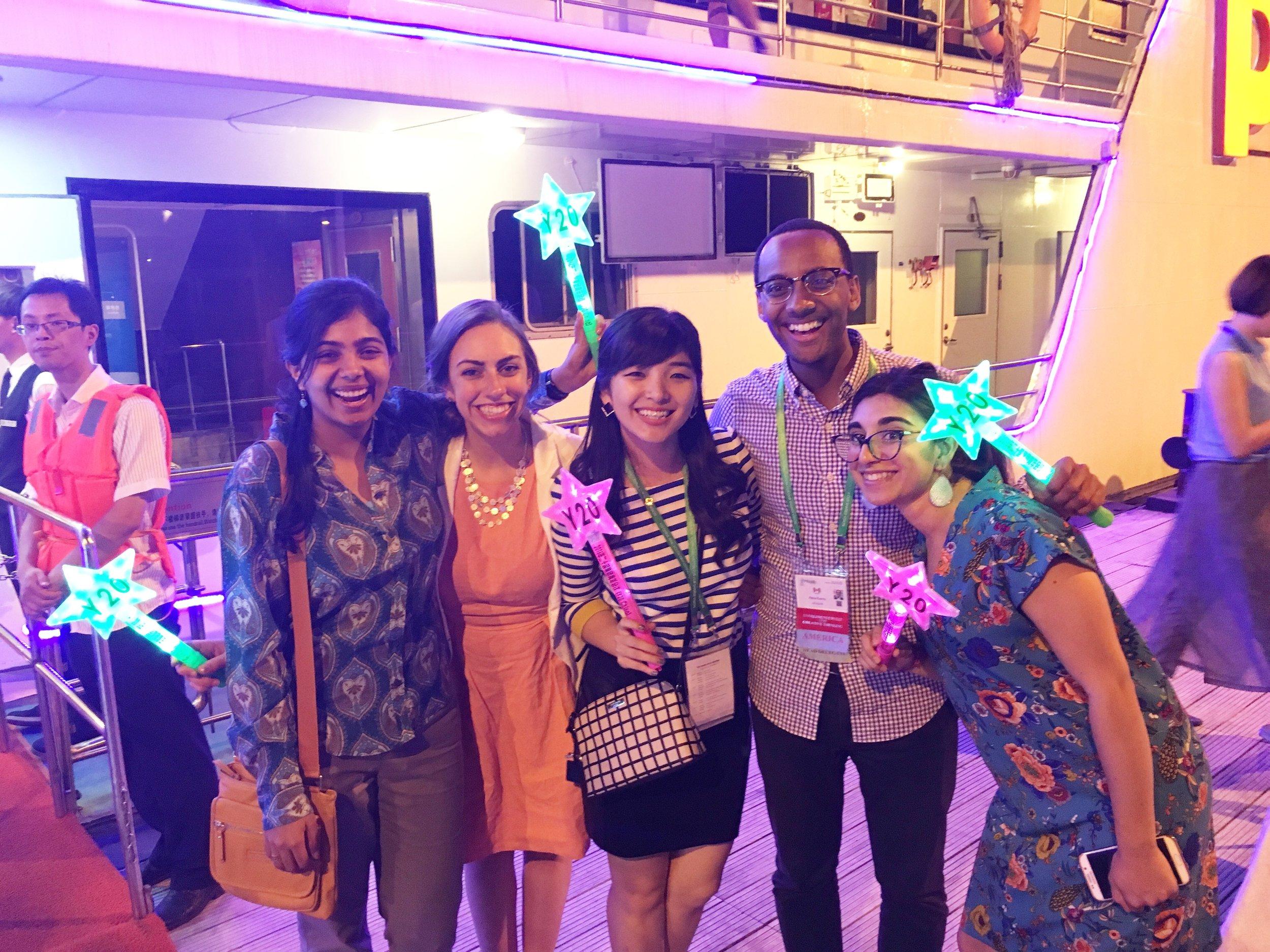 Canadian Delegates on Huangpu River Cruise (Shanghai 2016).jpg