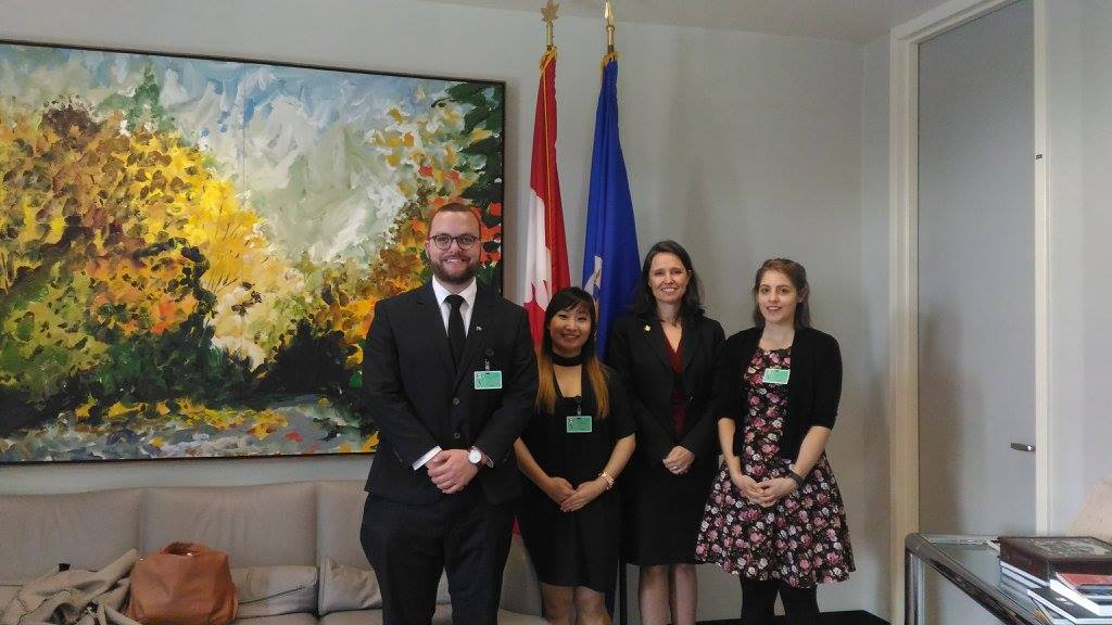 Canadian delegates meeting with Canada's Ambassador to the OAS, Jennifer Loten.jpg