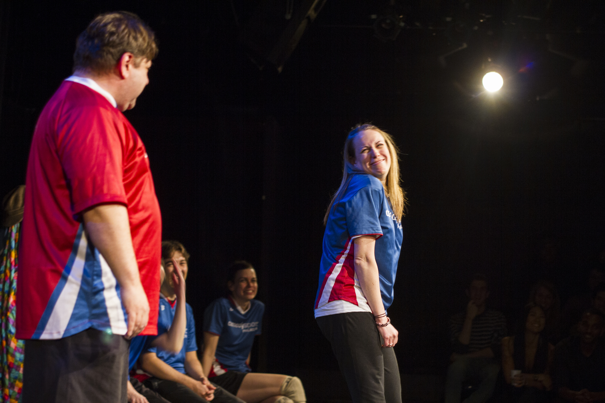 ComedySportz Players at The Love Show