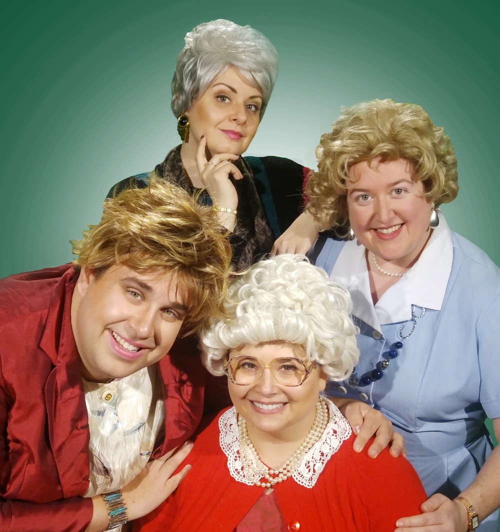 Murder Manor: The Golden Girls Edition Cast Photo