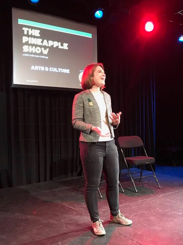 Kim Loux, Host of The Pineapple Show