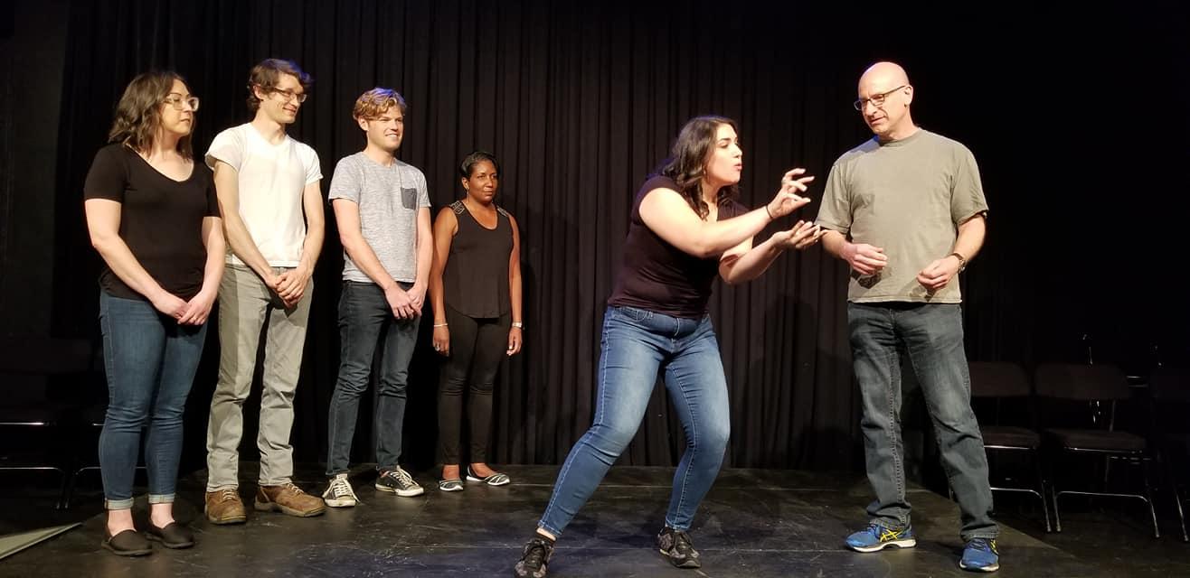 Improv Students at CSz Philadelphia