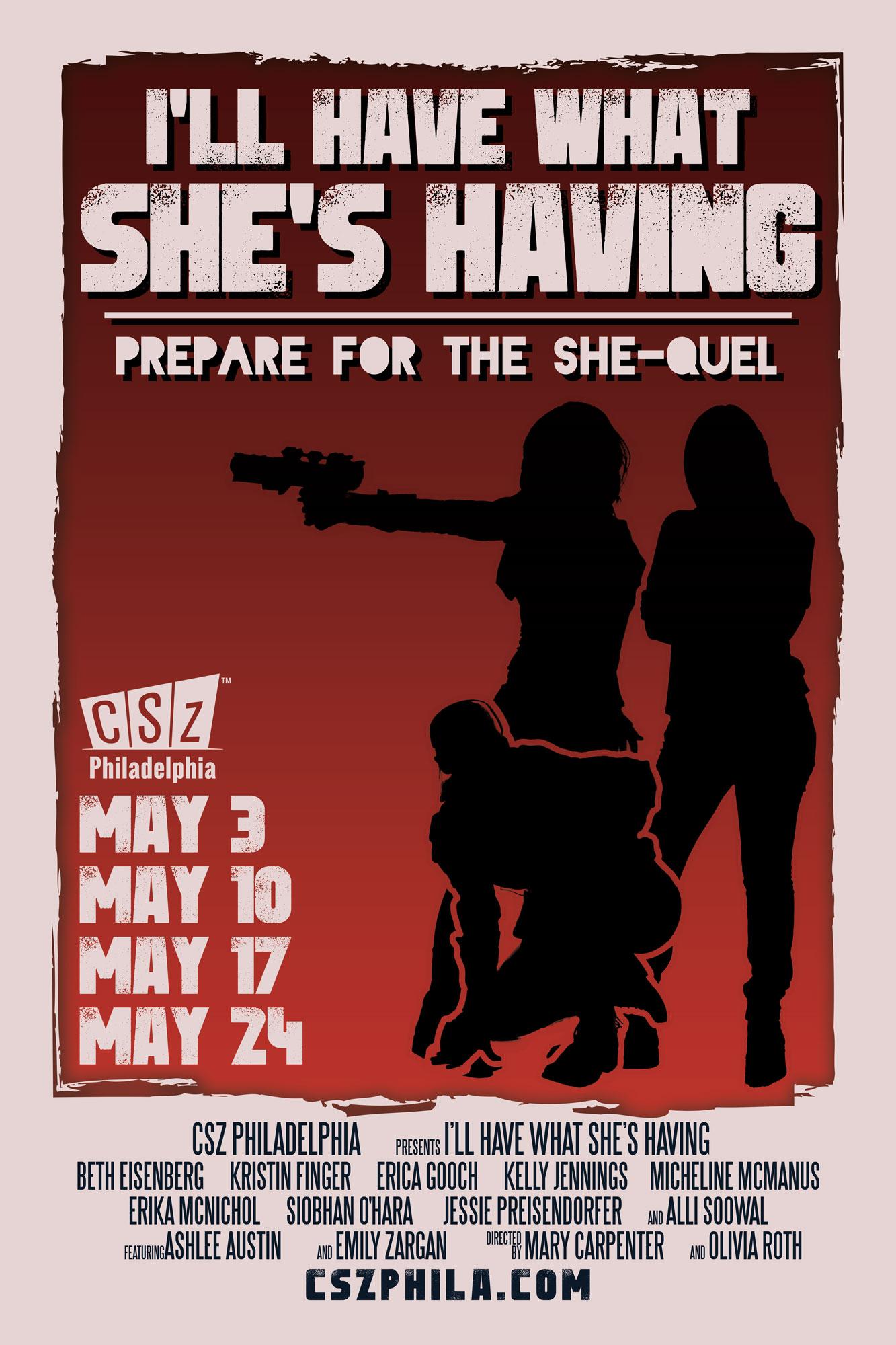 IHWSH Poster (vertical) by Shaun Kreider