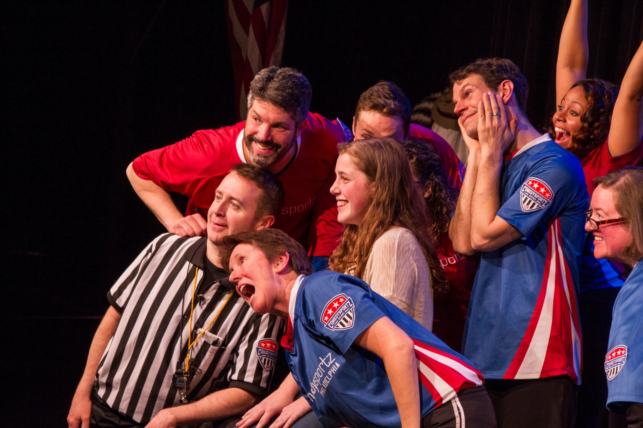 "ComedySportz - ""Mass hilarity"" - Philadelphia Inquirer"