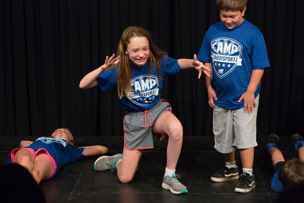 Your kids can have this much fun at Camp ComedySportz!