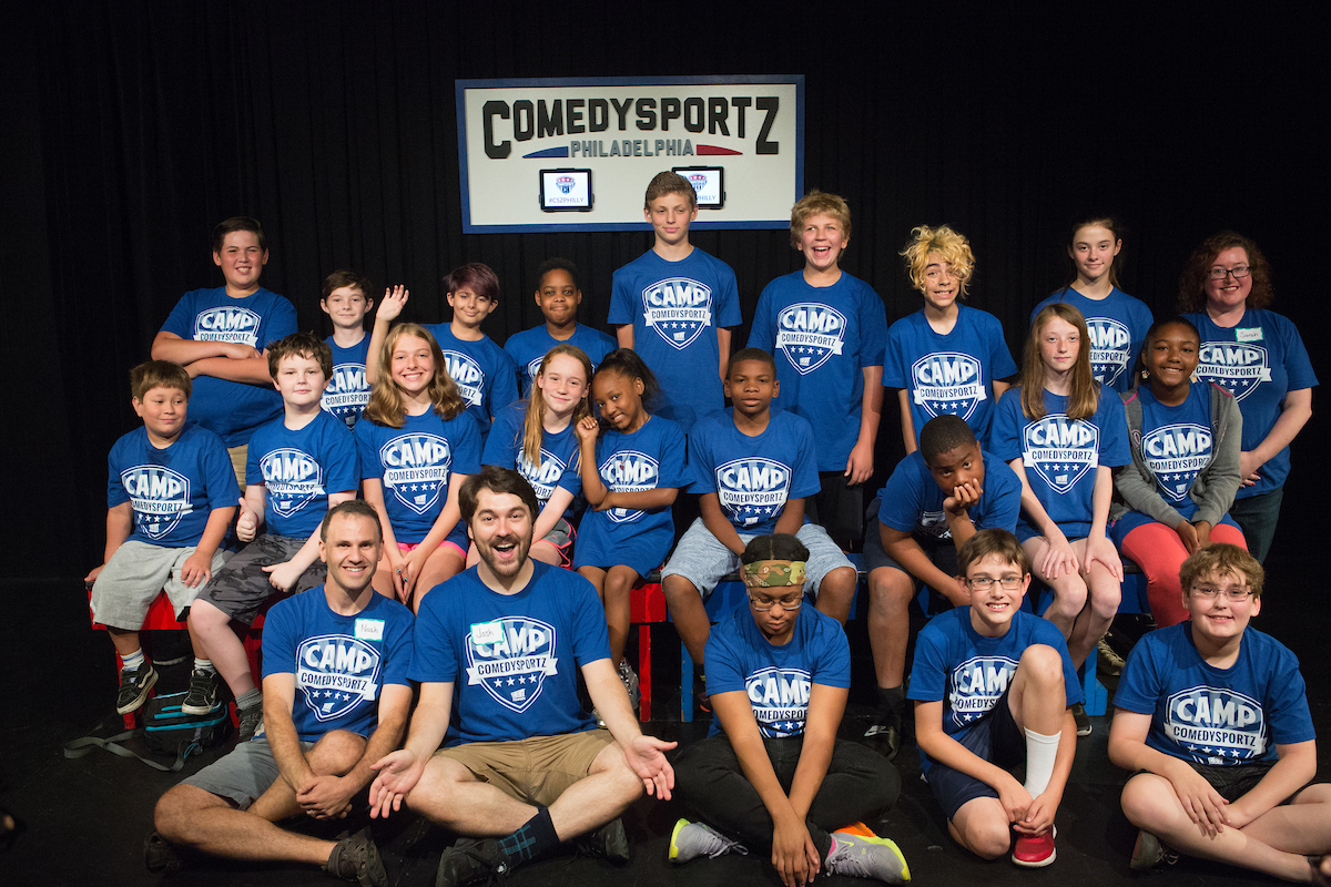 Join the fun at Camp ComedySportz!
