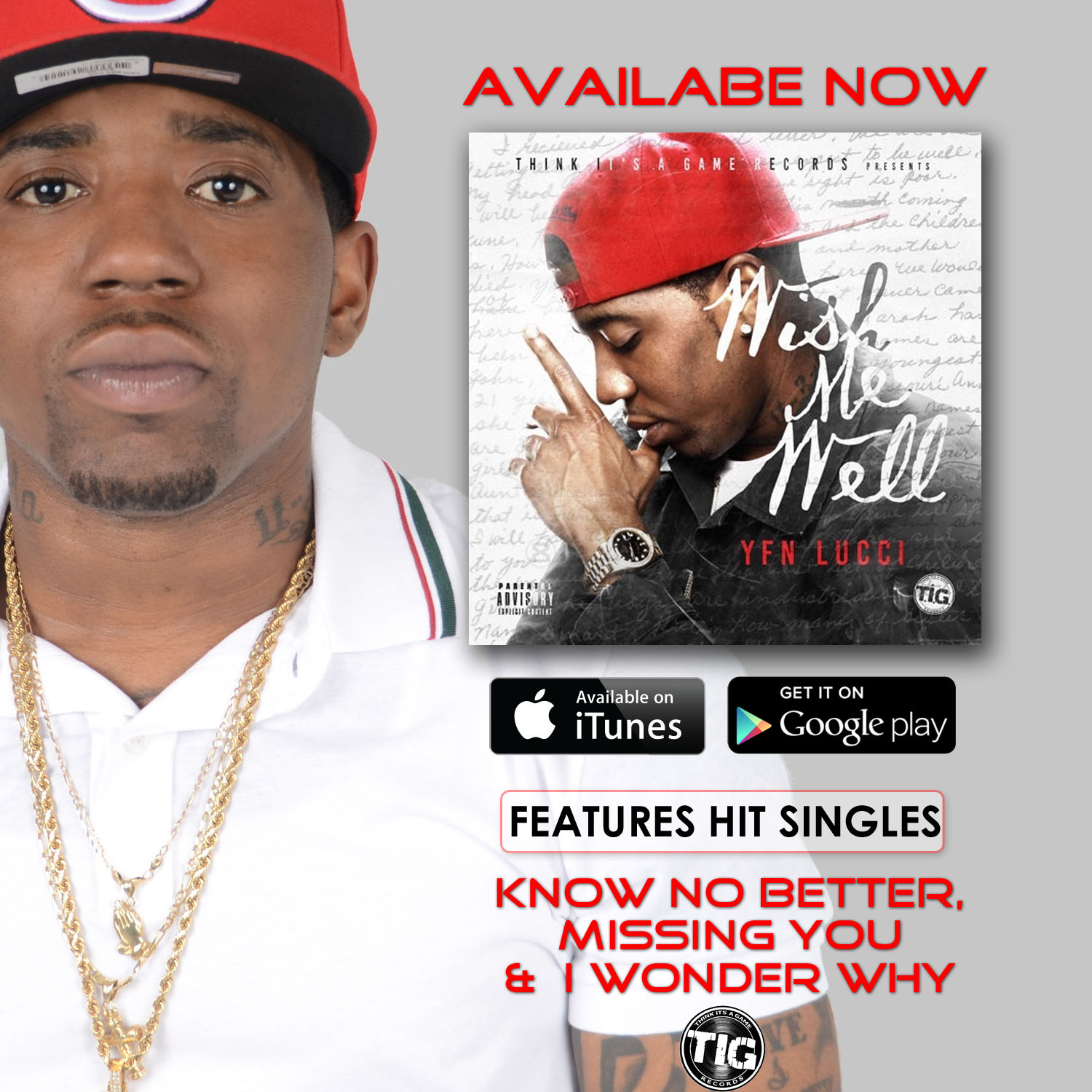 Wish Me Well Available Now — TIG Records