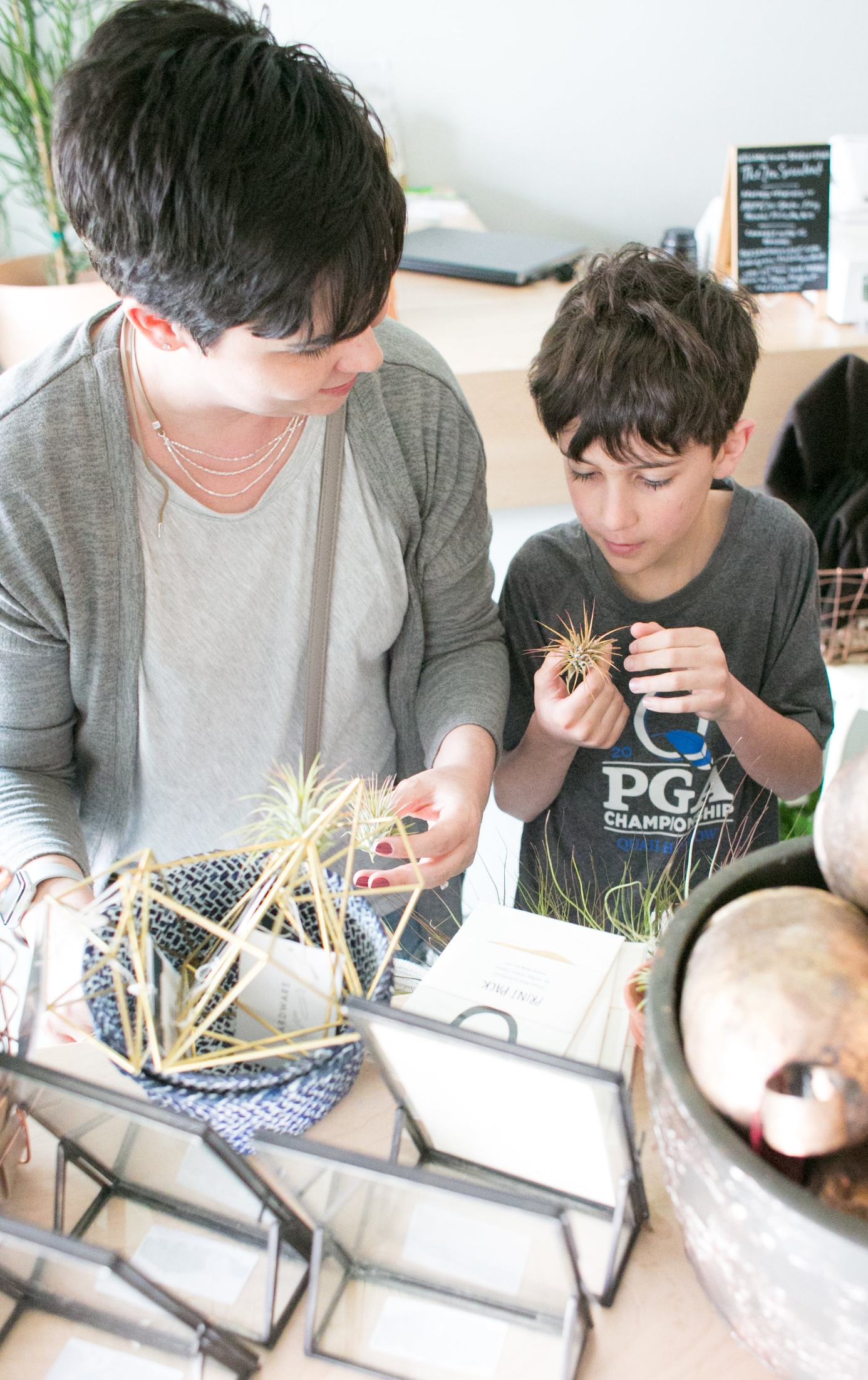 One of Megan's favorite parts of owning a neighborhood plant shop is watching creativity and confidence flourish in her customers, especially kids.