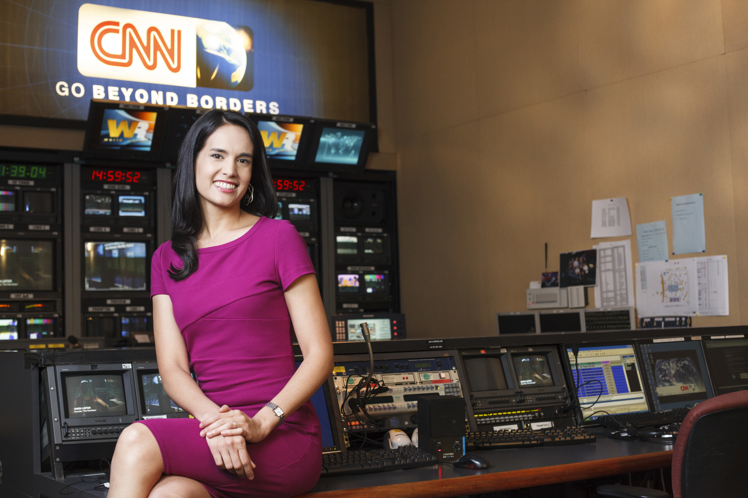 Kristie Lu Stout, Anchor and Correspondent for CNN