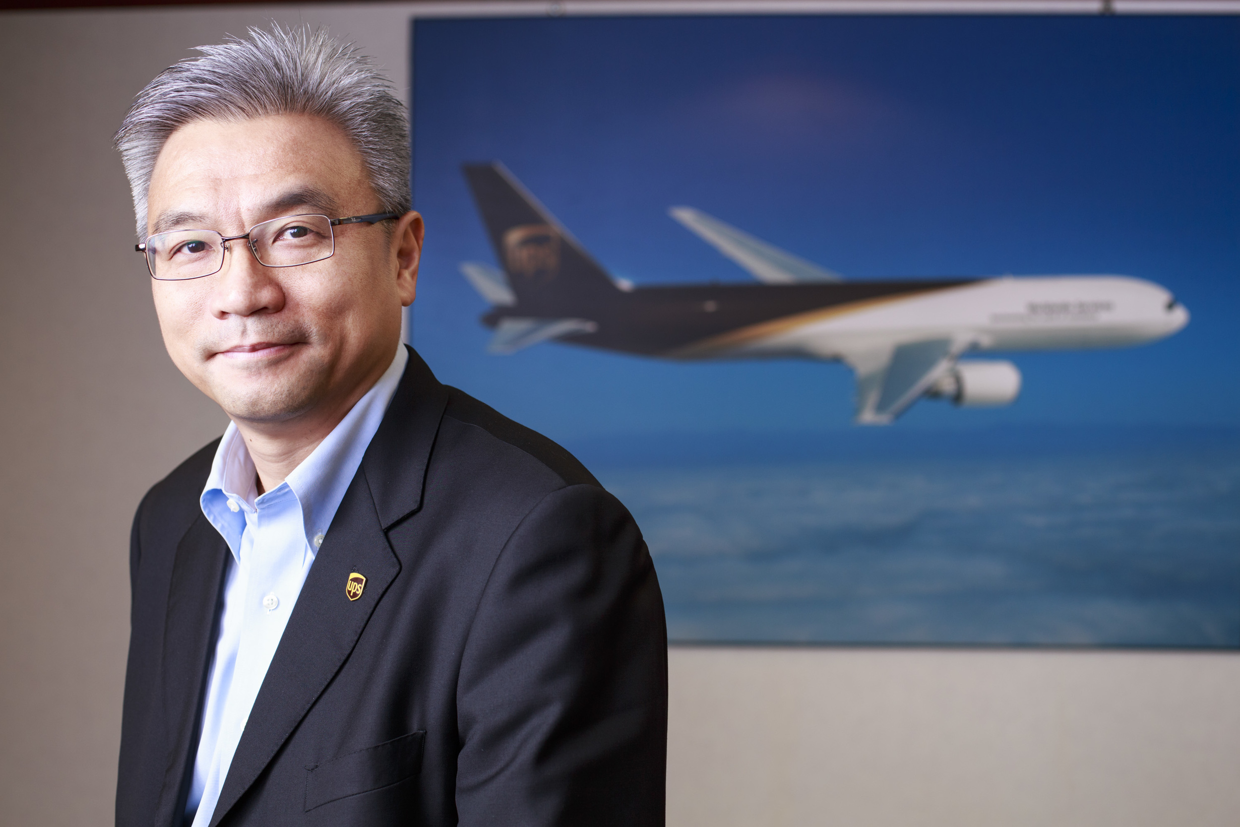 K.K. Leung, President of UPS North Asia District