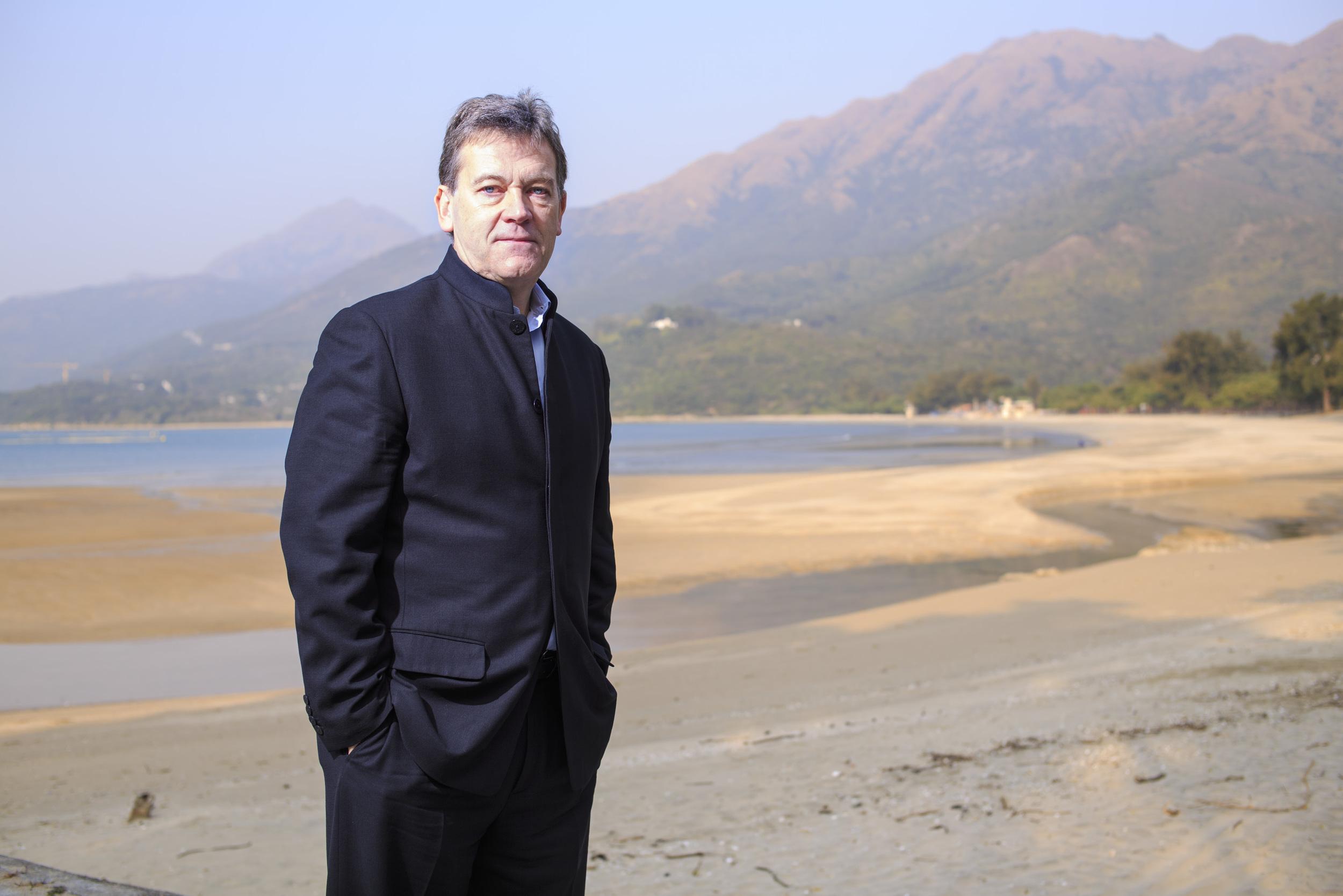 Barrie Goodridge, Chairman & CEO (Asia) for Edipresse Asia Ltd