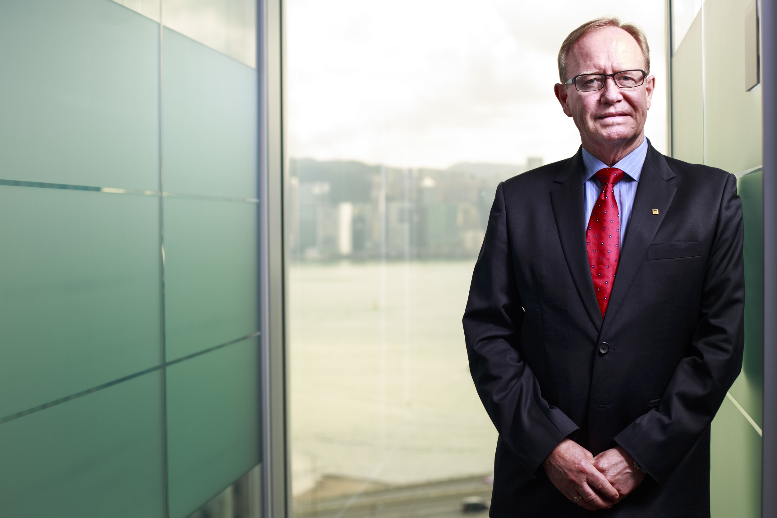 Lawrence Nutting, Chief Distribution Officer of Manulife (International) Limited