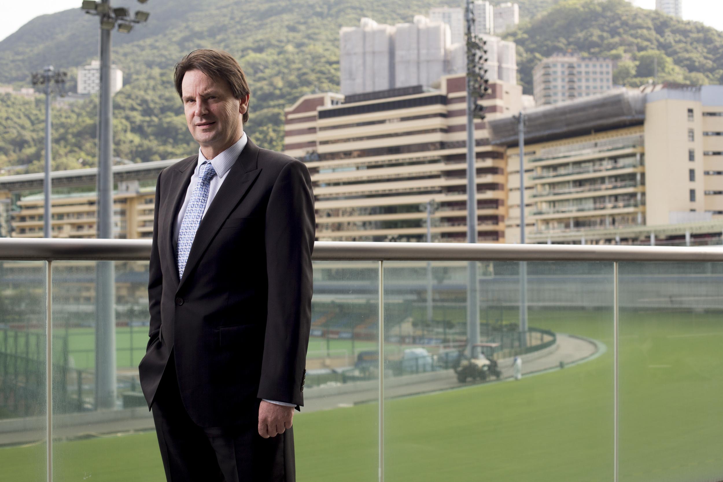 Ian Dickson, Head of Strategic Business Solutions at The Hong Kong Jockey Club