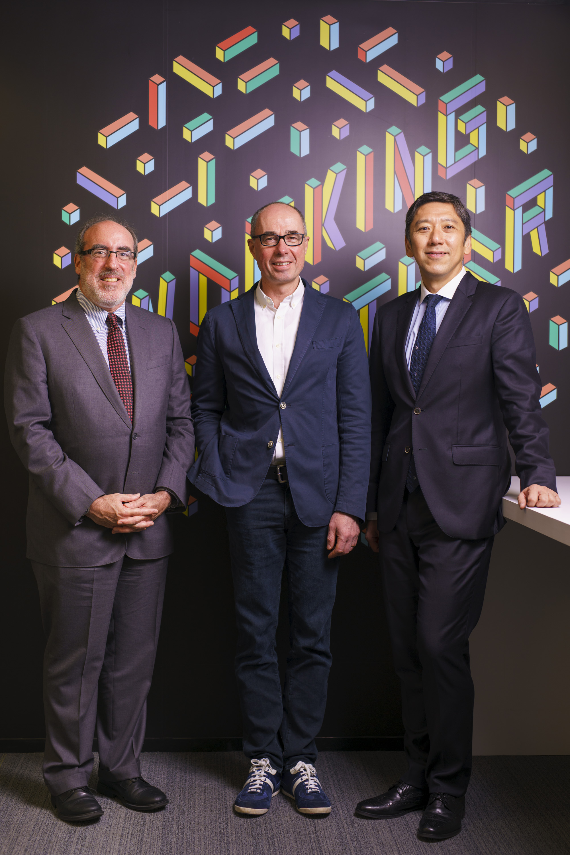 (Left to Right) Jeff Schwartz, Principal; Brett Walsh, Partner; and Jungle Wong, Chief Talent Officer. All members of Deloitte.