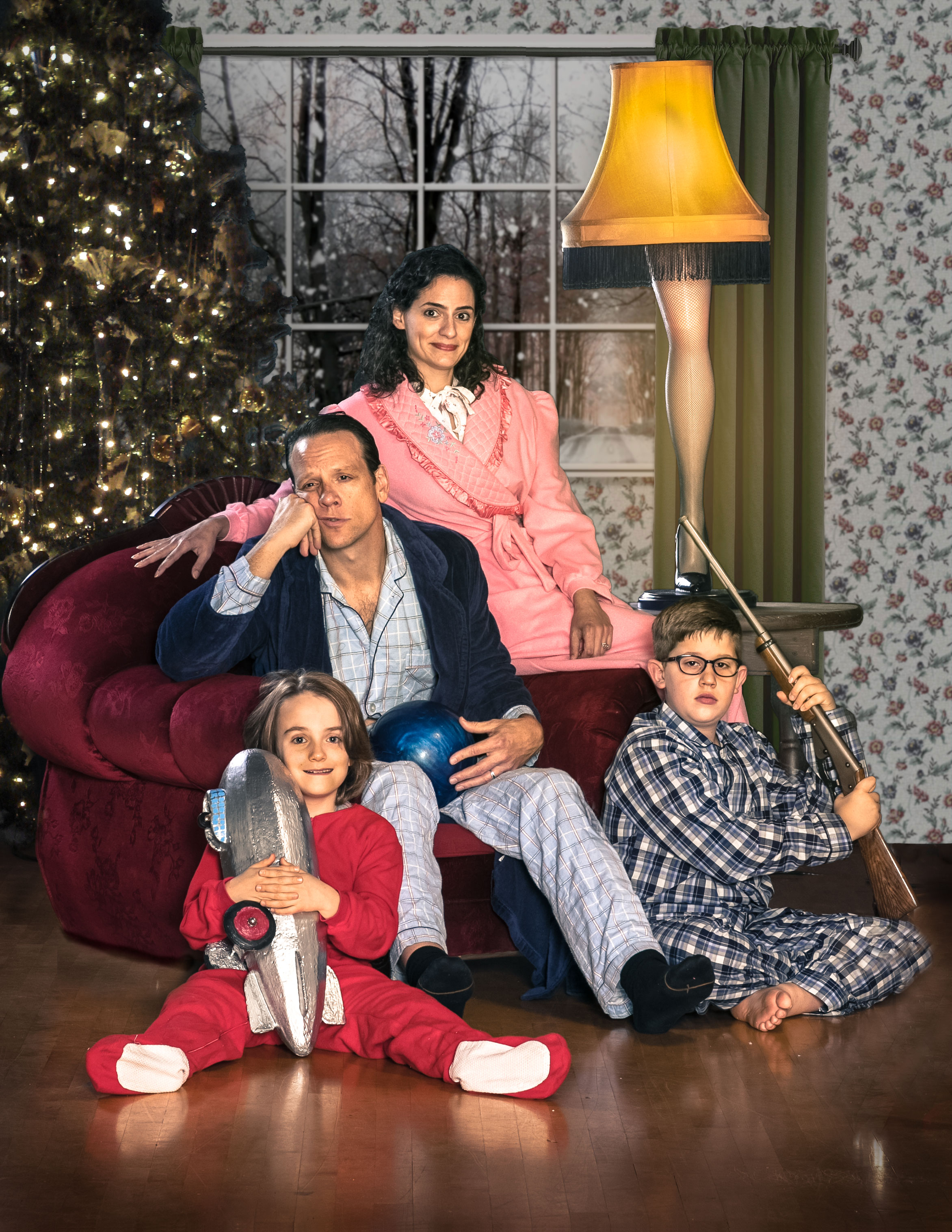 Shana Eisenberg as the mother in  A Christmas Story.