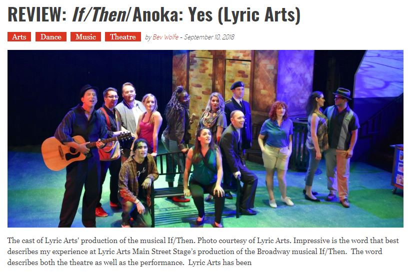 READ FULL REVIEW FROM TWIN CITIES ARTS READER