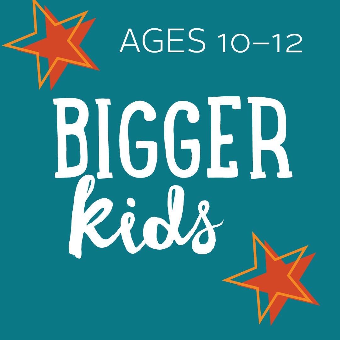 Placeholder for bigger kids - ages 9-12