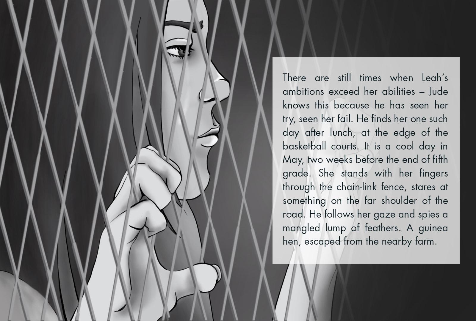 Monthly Fiction Maker illustration illustraded story Seth Marlin Alyssa Cooper page 1
