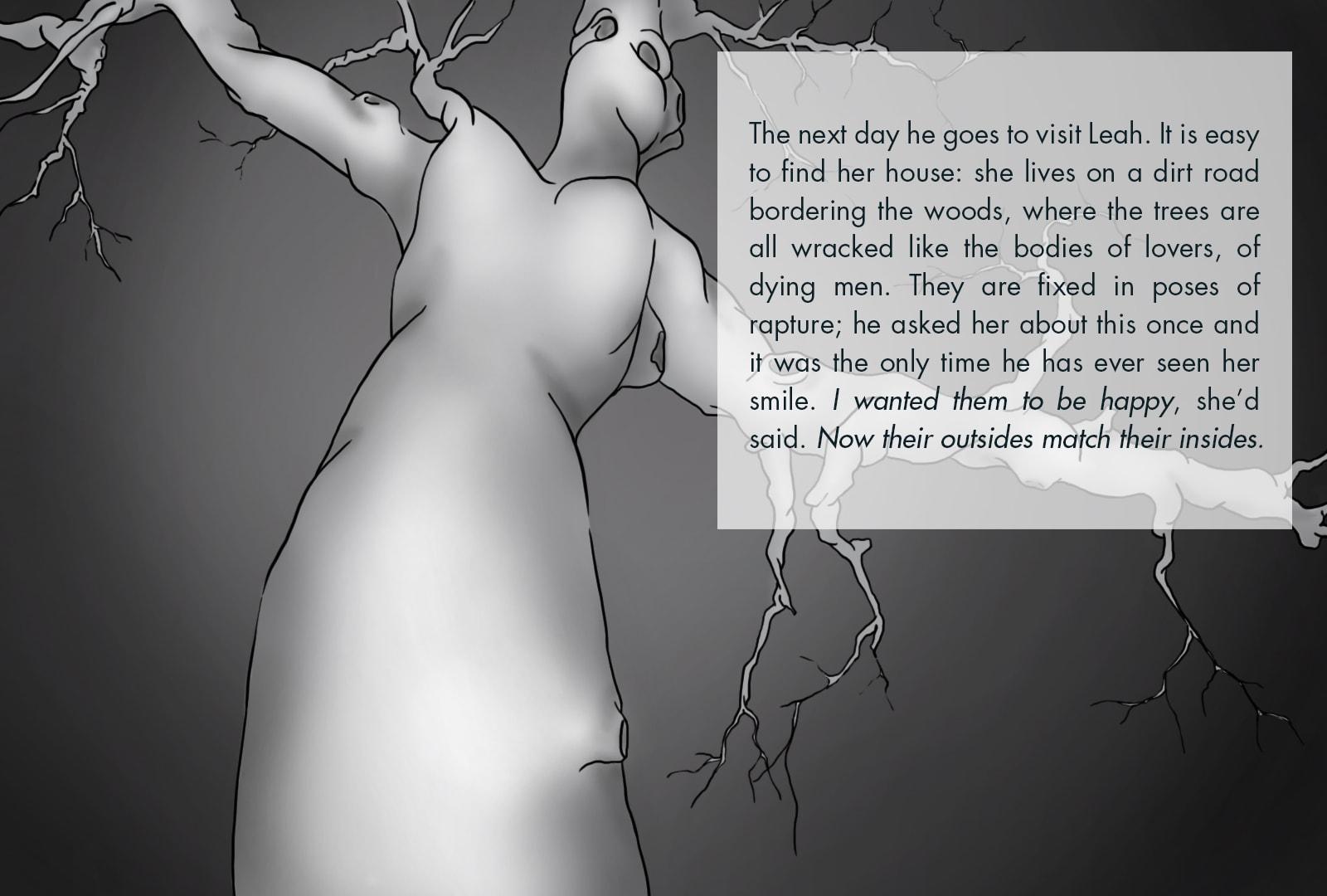 Monthly Fiction Maker illustration illustraded story Seth Marlin Alyssa Cooper page 7