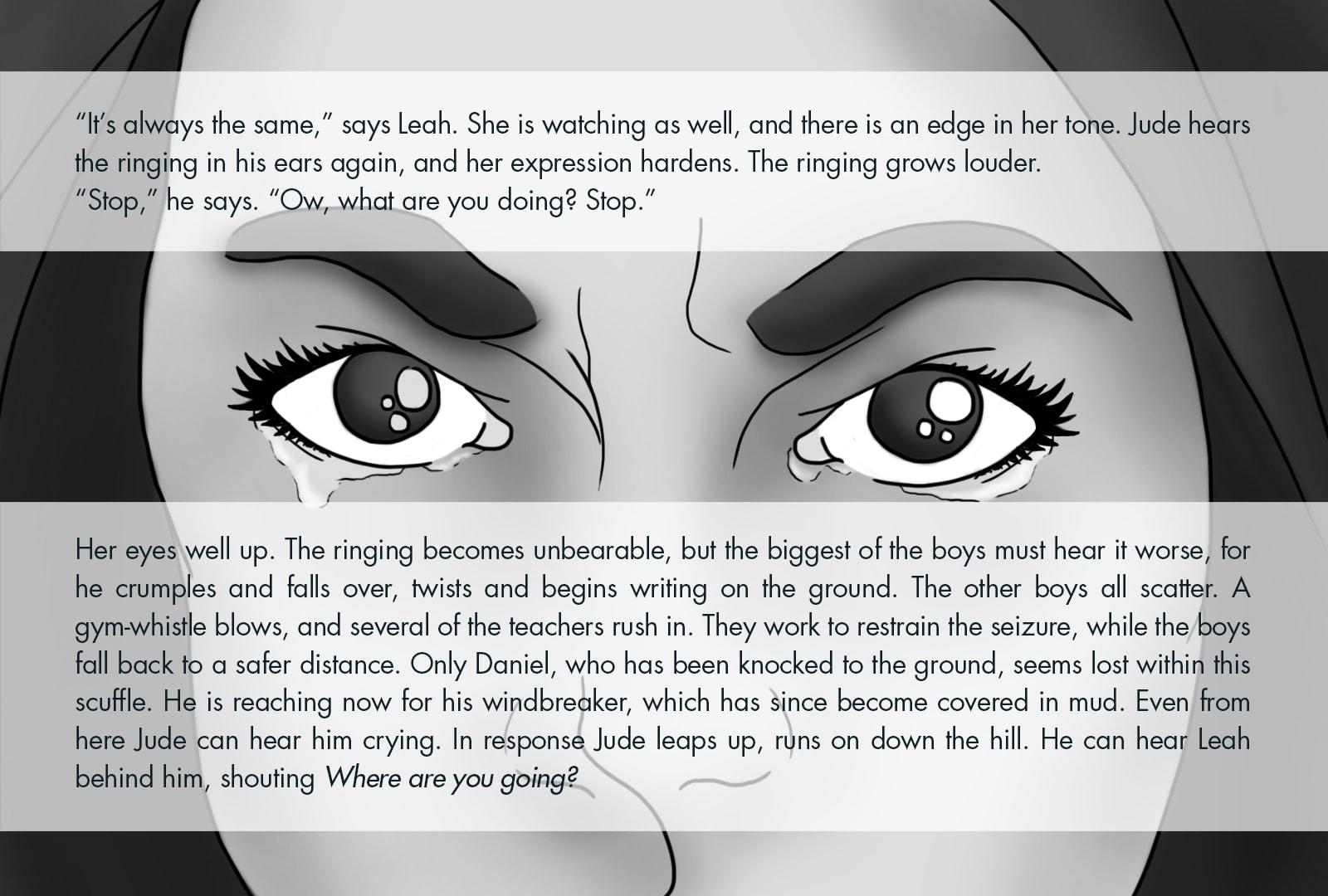 Monthly Fiction Maker illustration illustraded story Seth Marlin Alyssa Cooper page 14