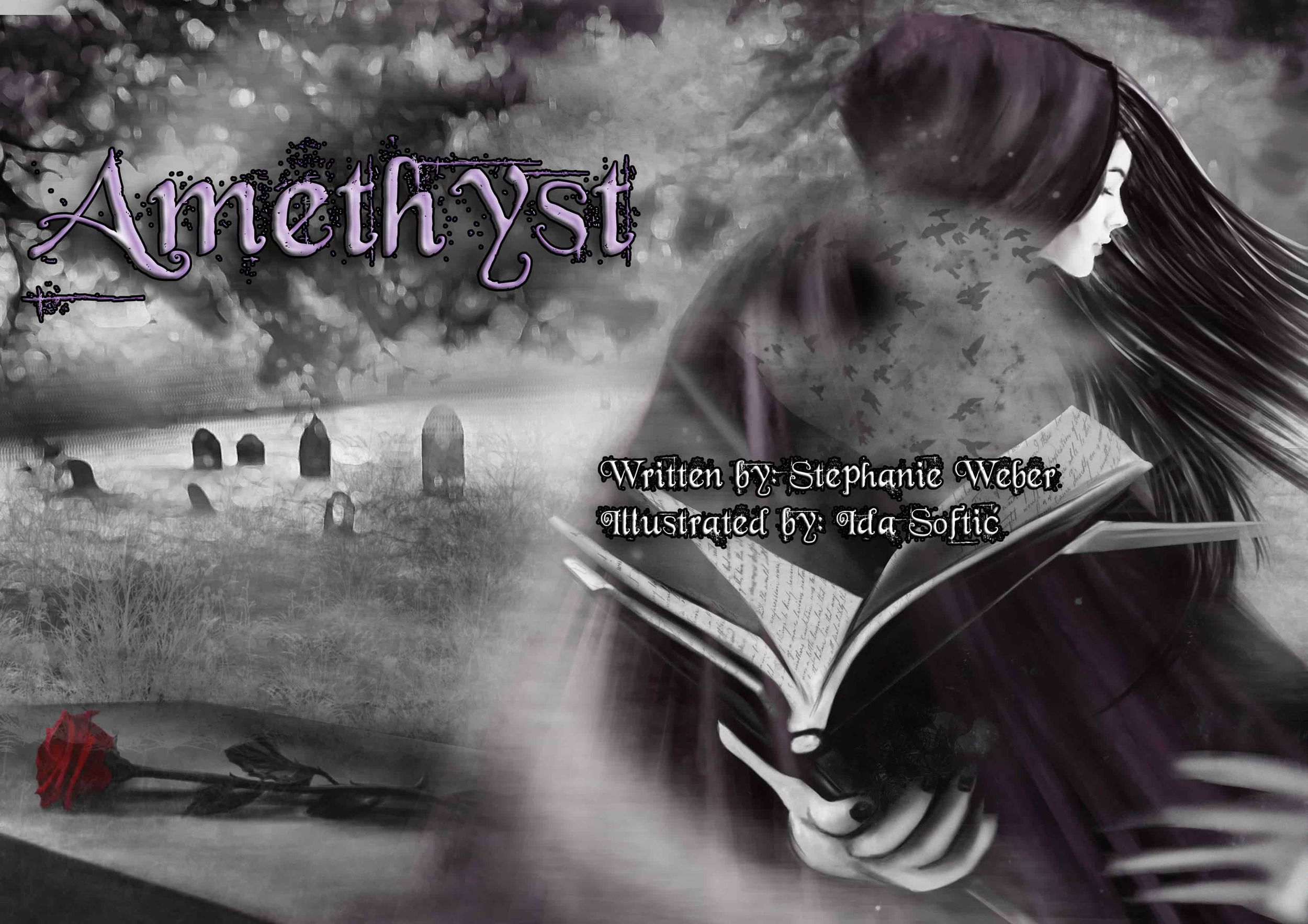 Monthly Fiction Amethyst illustration illustraded story stephanie weber ida softic
