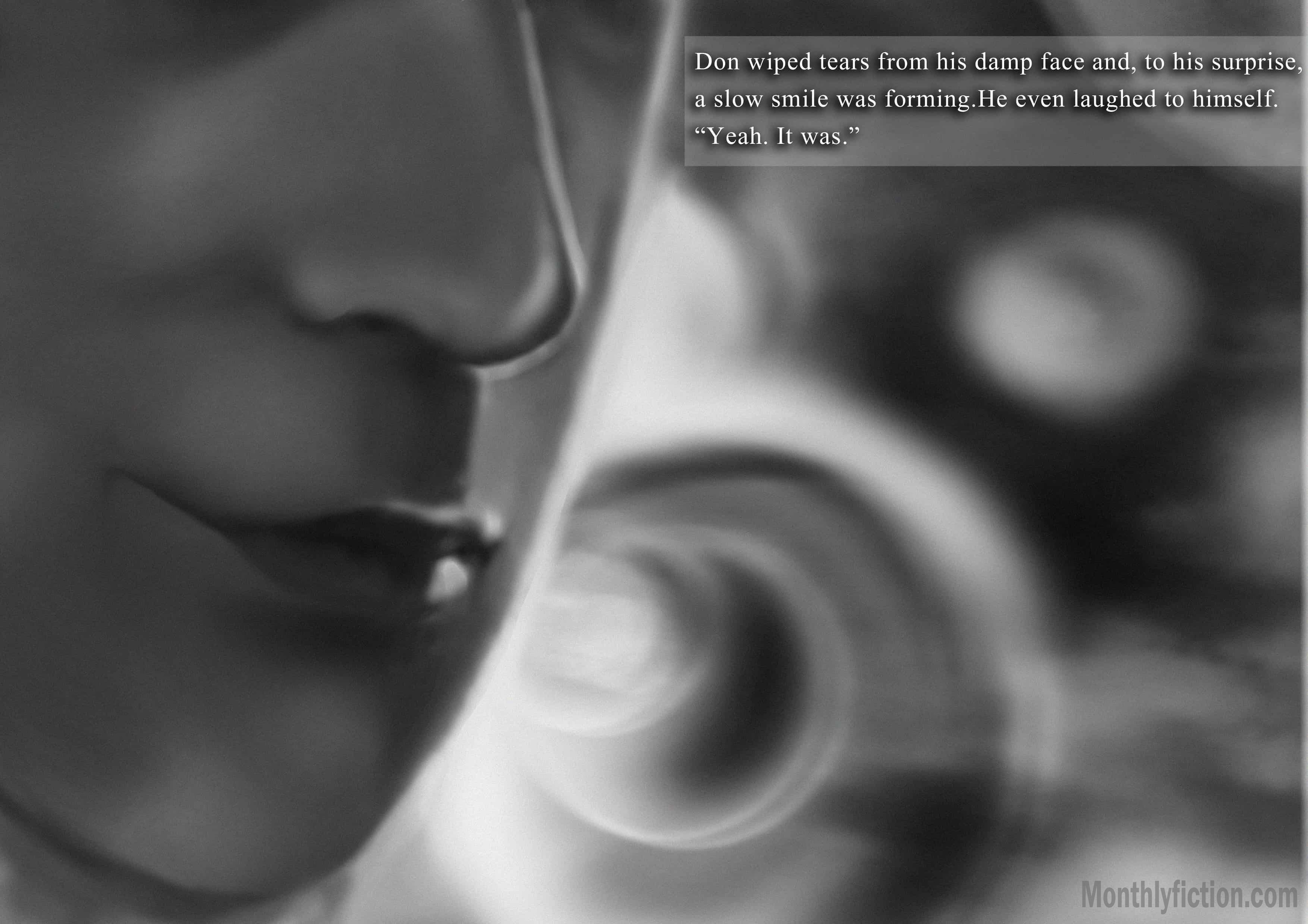 Monthly Fiction Amethyst illustration illustraded story stephanie weber ida softic page 21