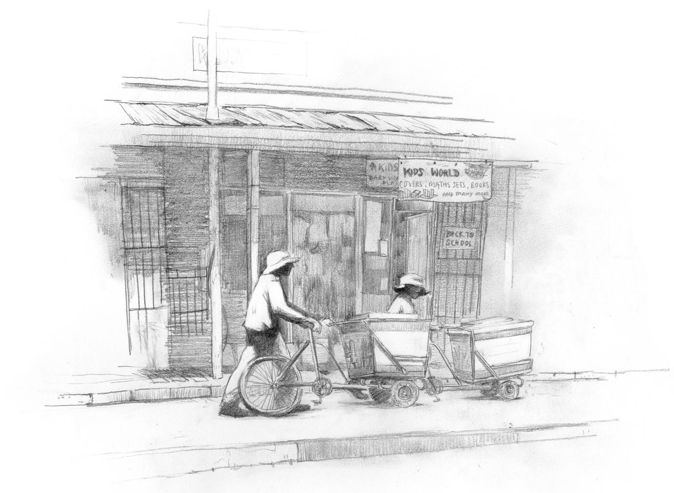 Journalistic Illustration in Zimbabwe