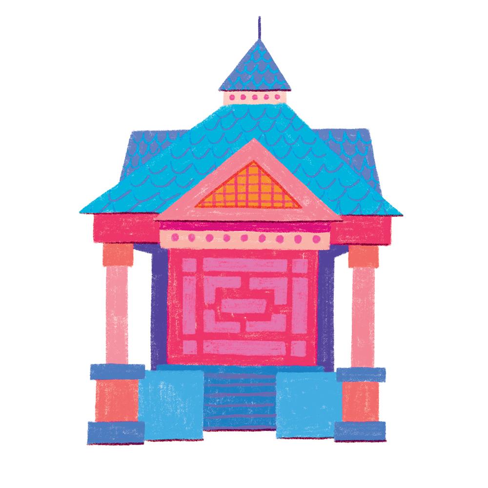 FoST pagoda