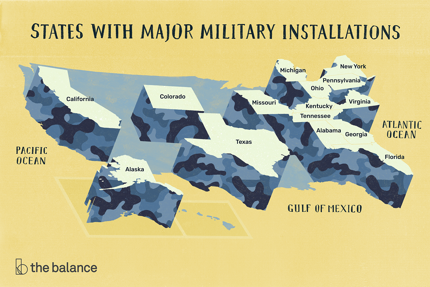 States-With-Major-Military-Installations