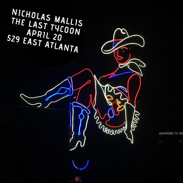 Atlanta!  Our show with @nicholasmallis is coming up this Saturday at @529_eav and it's going to be ELECTRIC!