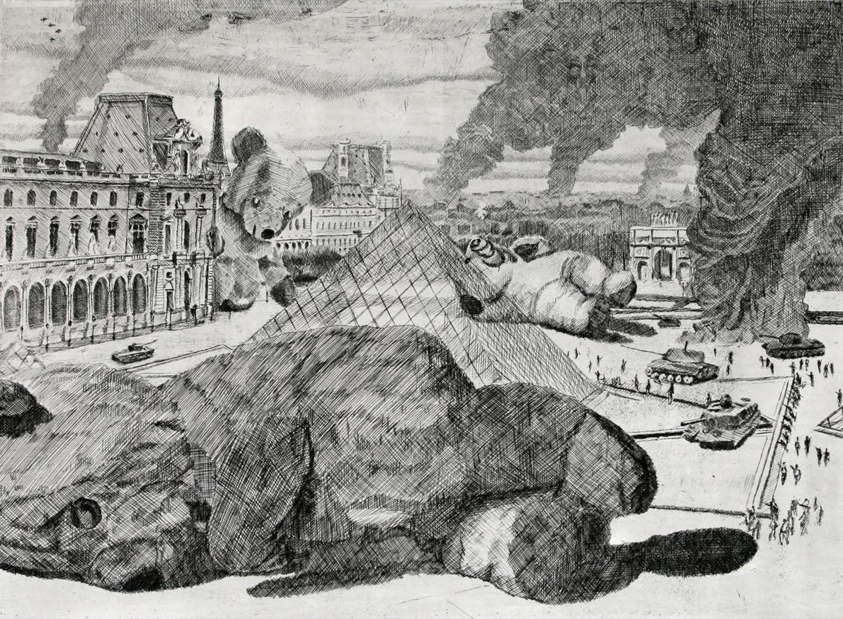 Guy Peppin The Bears That Ate Paris 2007