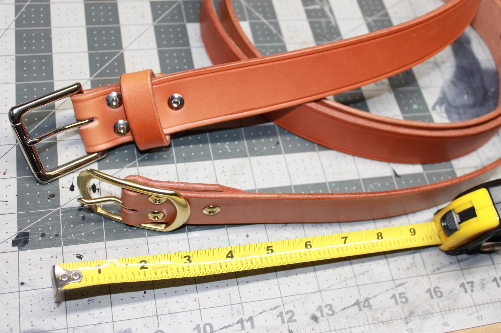 Measuring for correct belt size