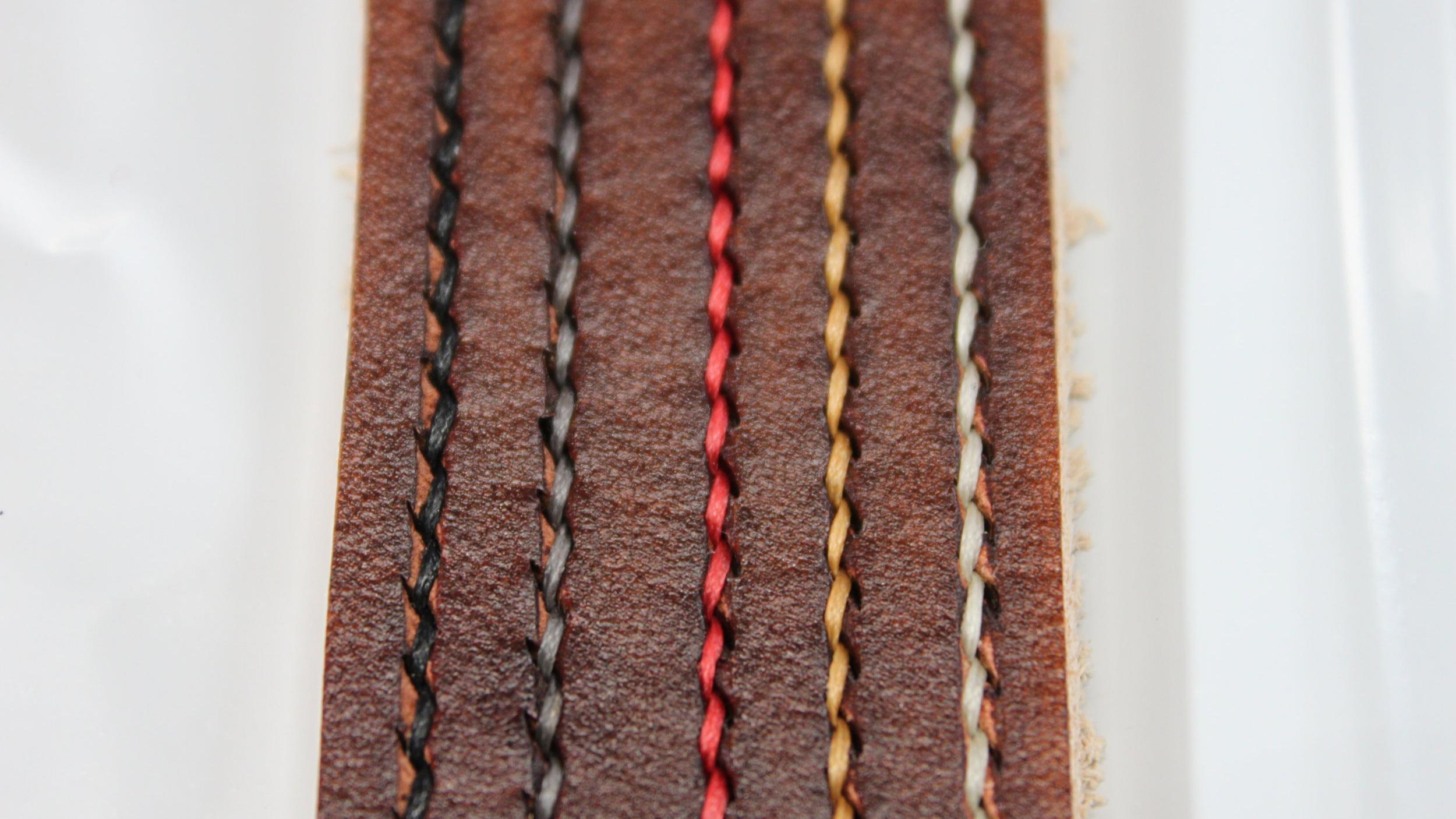 Brown Leather Belt Dye
