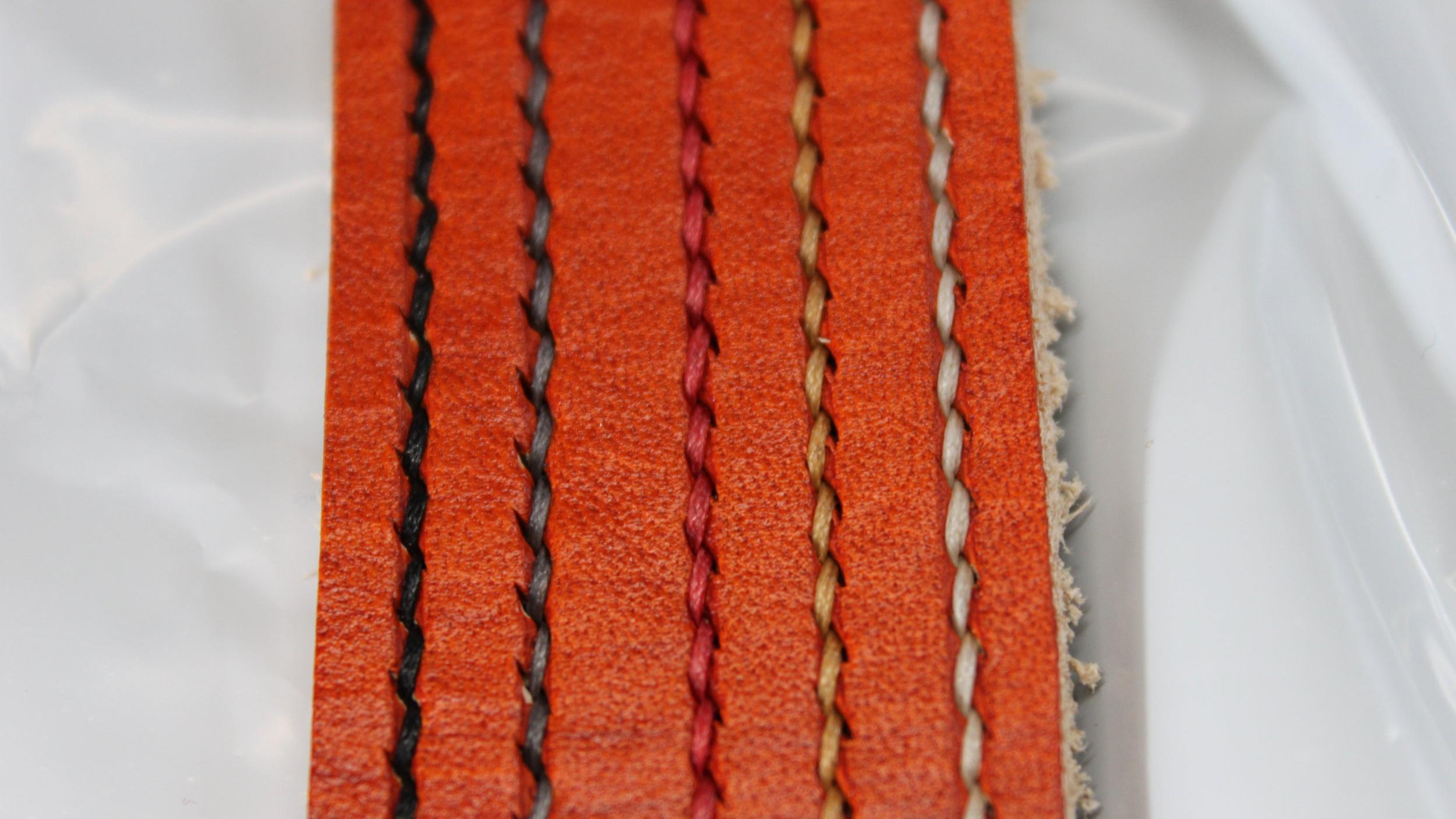 Saddle Tan Leather Belt Dye