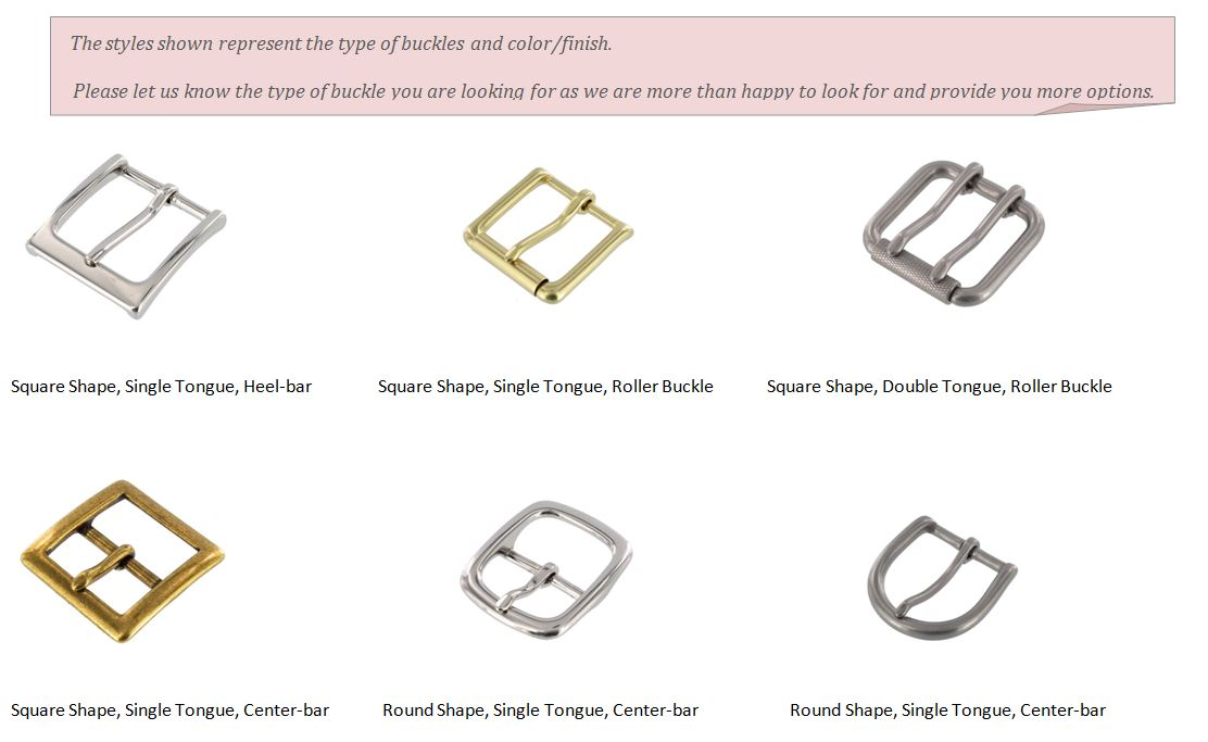 Buckle Types