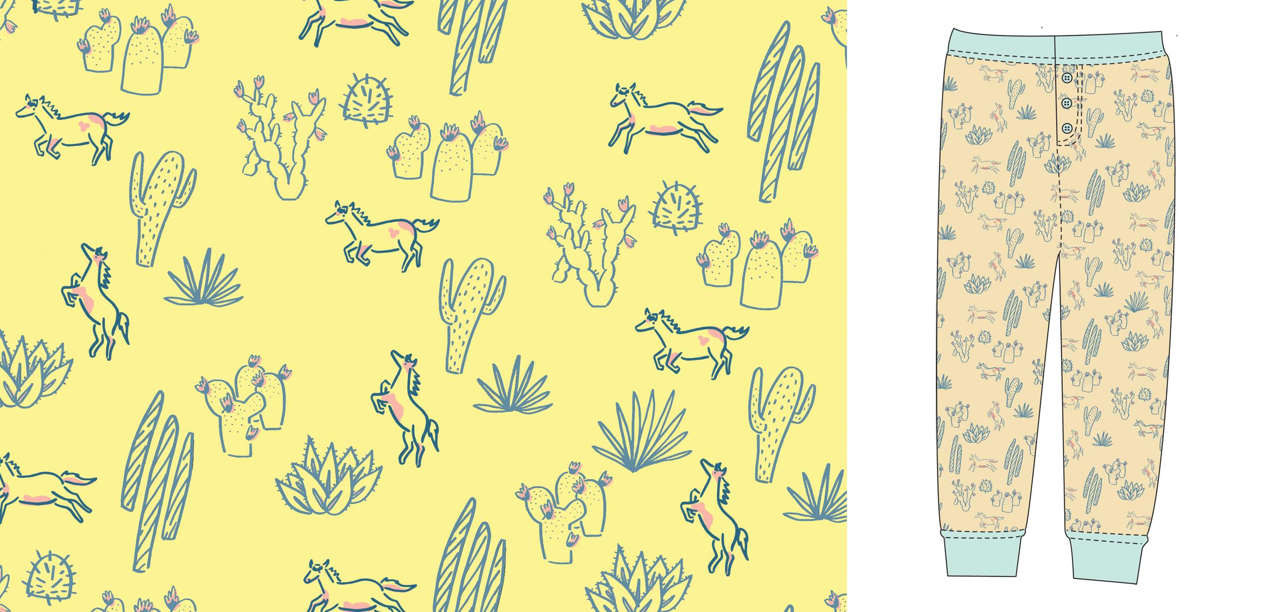 cacti and pony