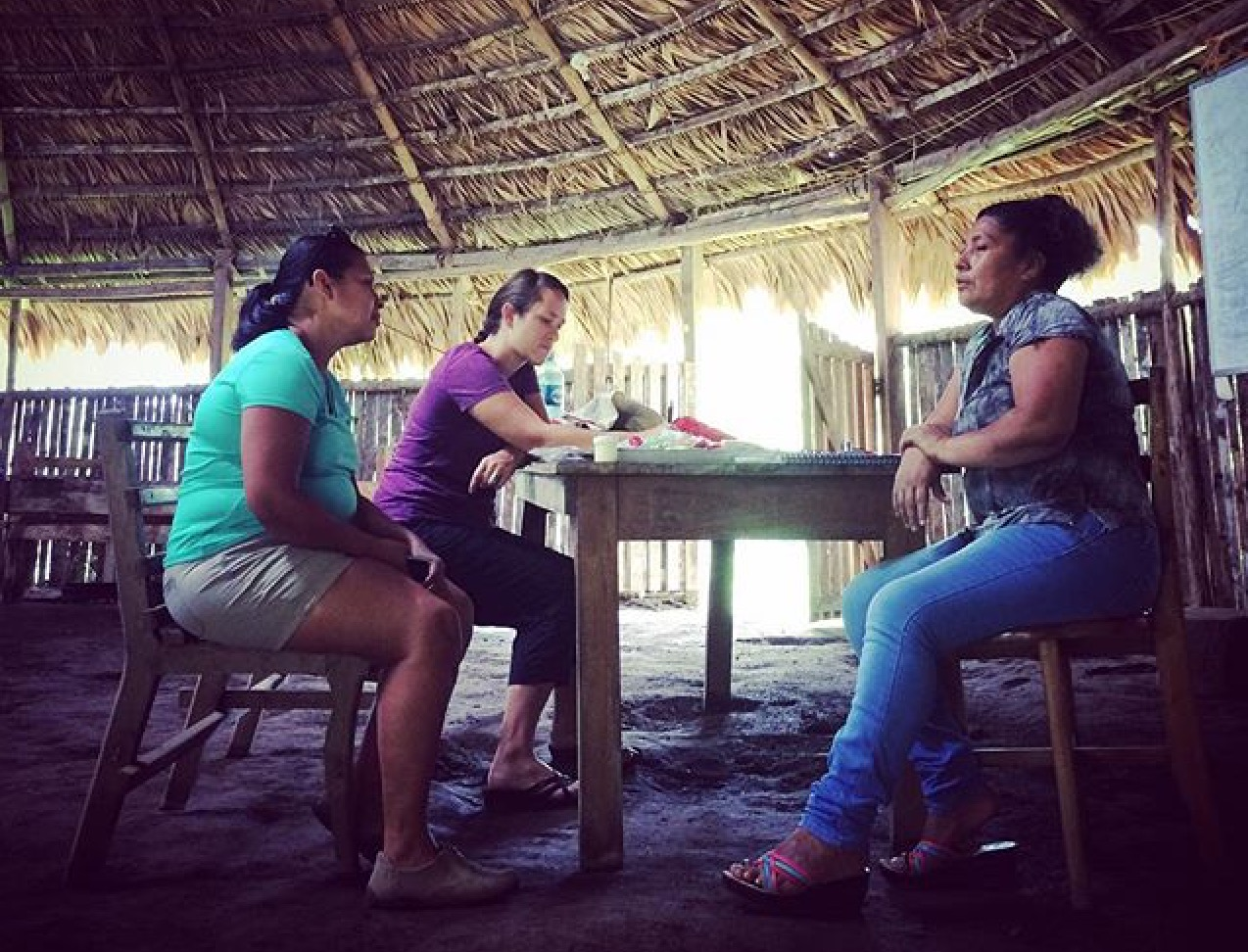 Tirza and Katie speak with Edith about the recommendations gathered at the Young Women's Institute in June 2016.