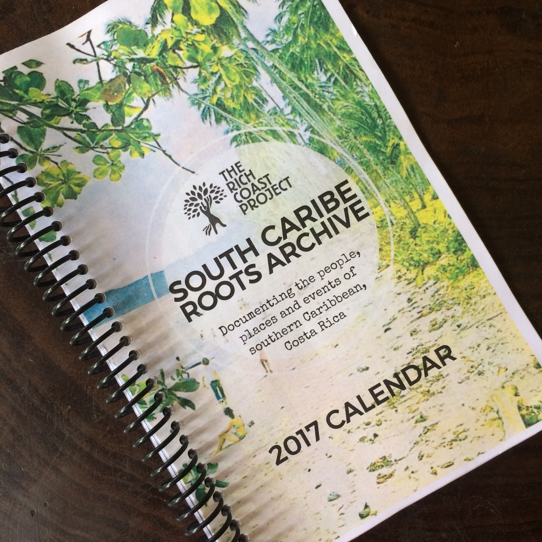 The 2017 Calendar will be printed and distributed free within the community with the help of sponsors. Additional calendars will be available for purchase on www.therichcoastproject.org.