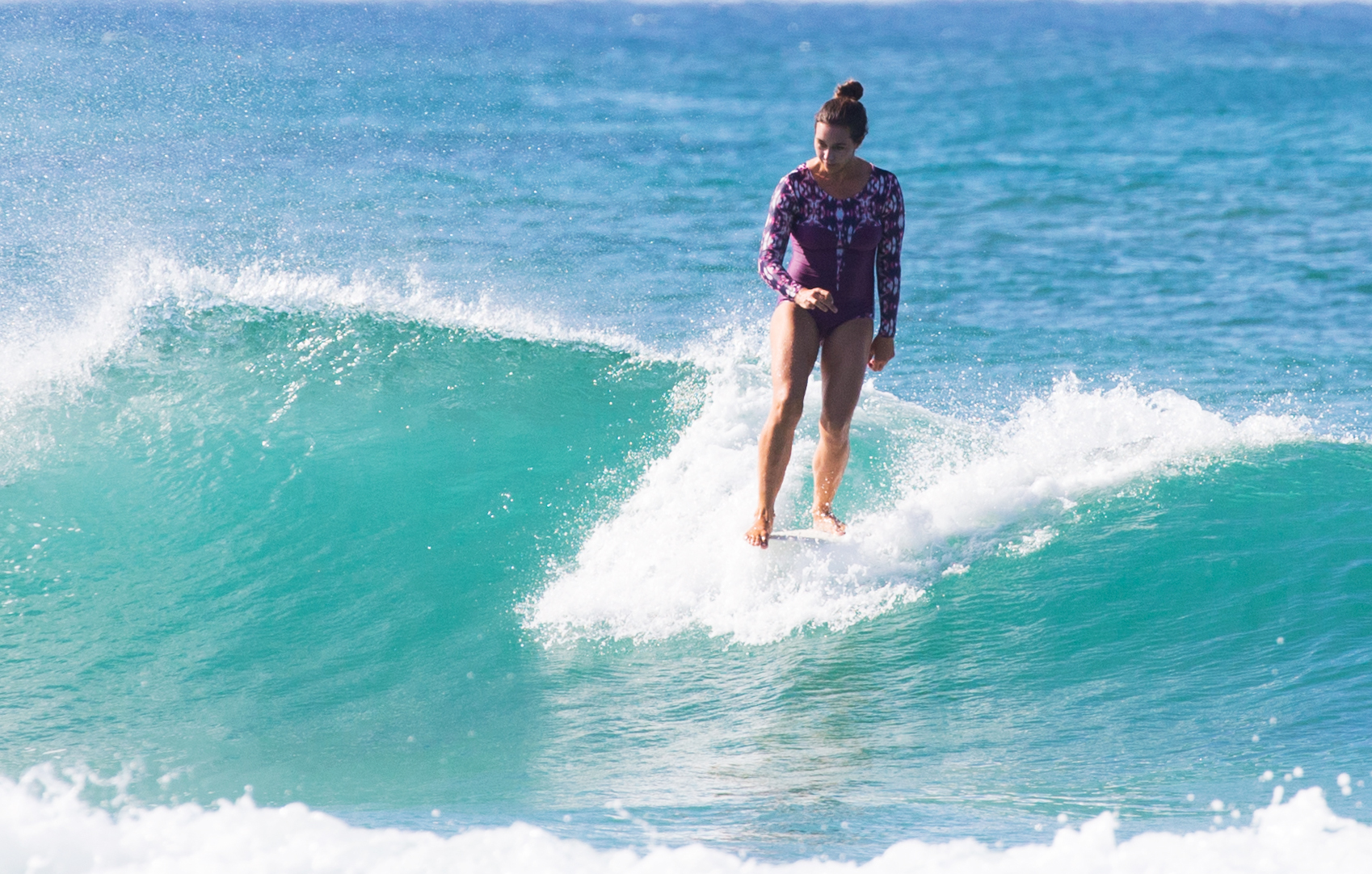 Rocking the Lafitenia Surfsuit -Photo by Michael Spazz