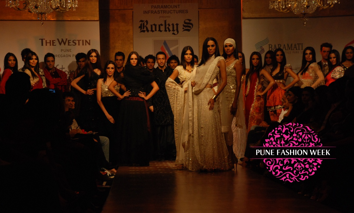 """Media campaign and branding for """"  PUNE FASHION WEEEK """"     Click here for more..."""