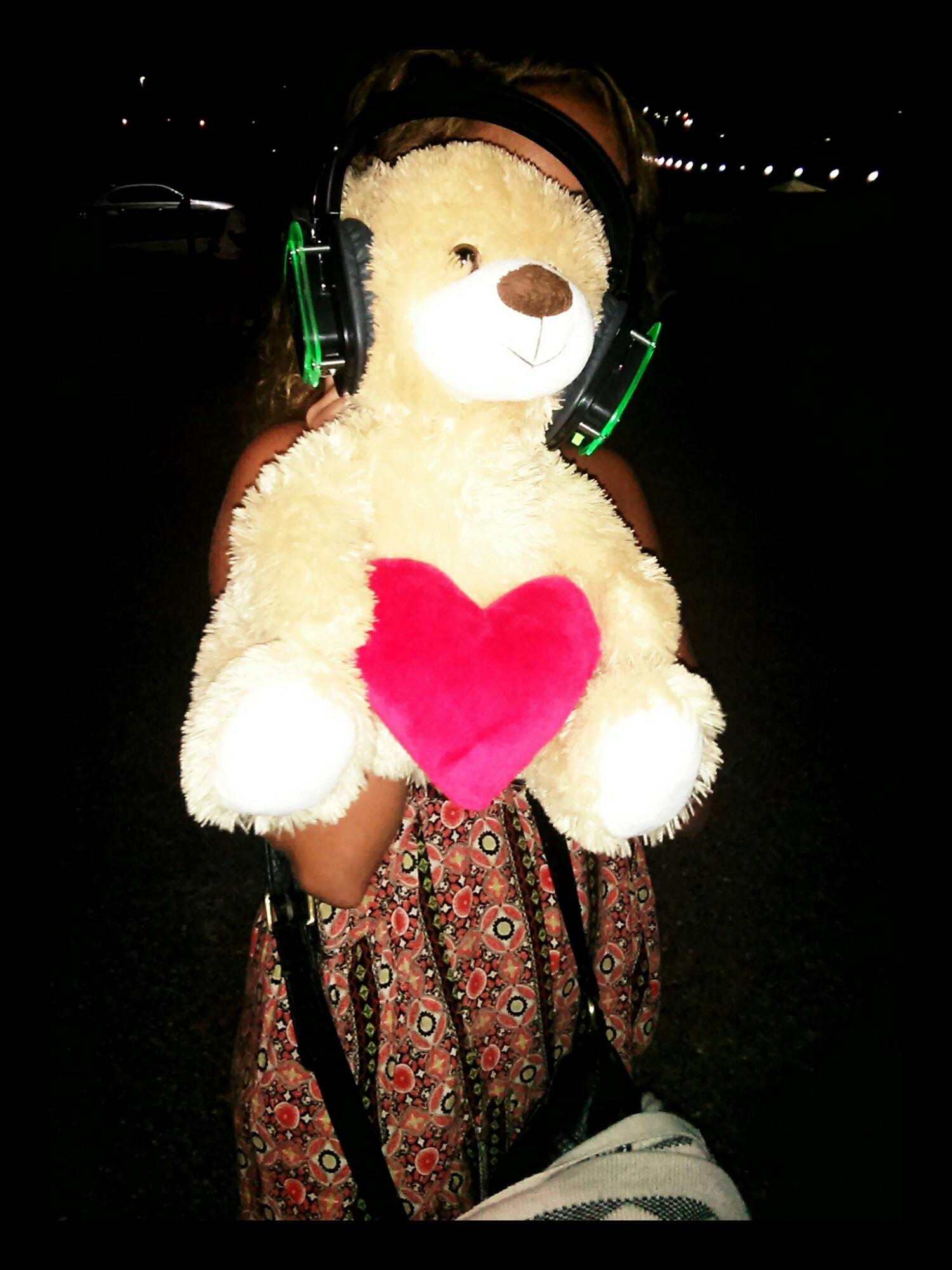 Everyone was welcome, even teddy bears.
