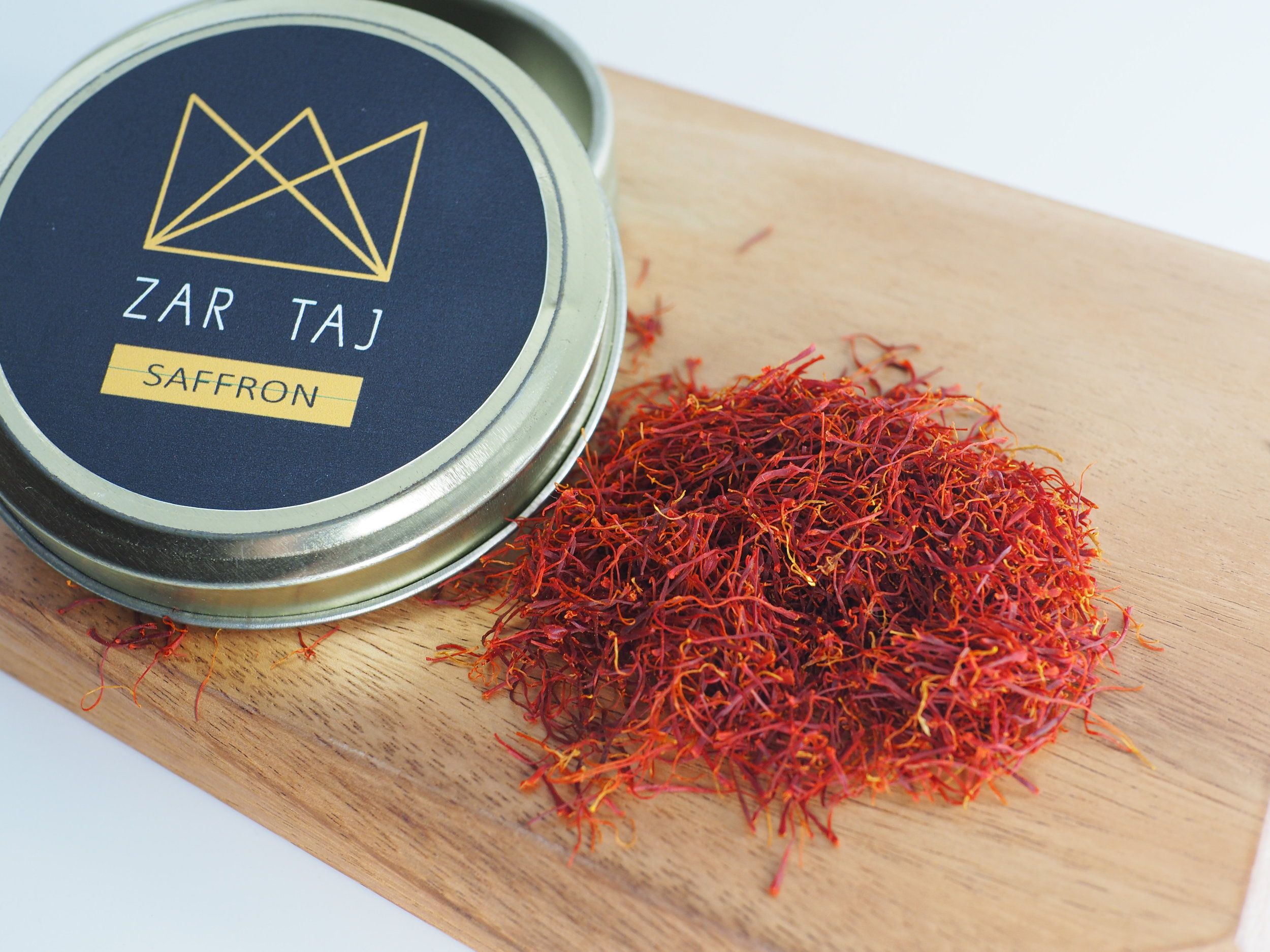 Saffron - Grown by the Zade family these saffron are premium quality from Iran. Grown and harvested by the family using traditional methods that help preserve the quality, fragrance and color.