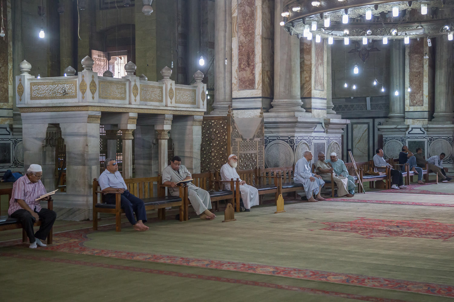 In a Mosque