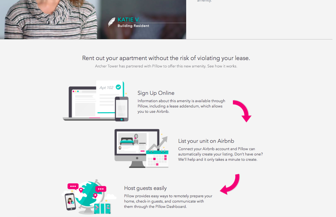 New Landing Page -