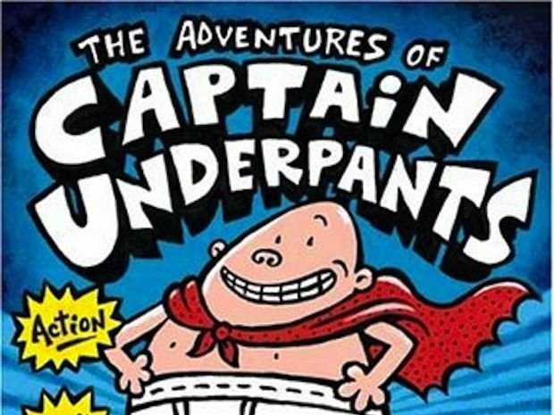 Captain Underpants to the rescue!